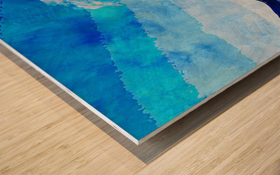 Nature View  Wood print