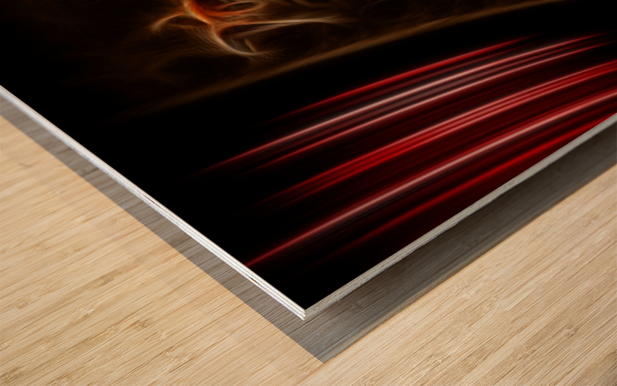 Surreal Performance Wood print