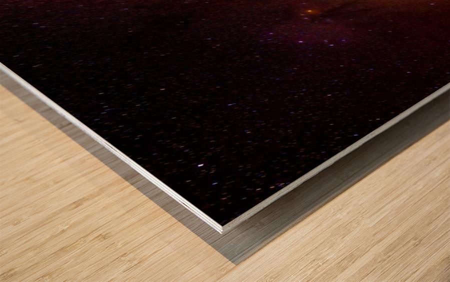Galactic Core Explosion Wood print