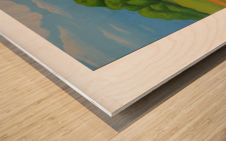 Vino In Vendita Wood print