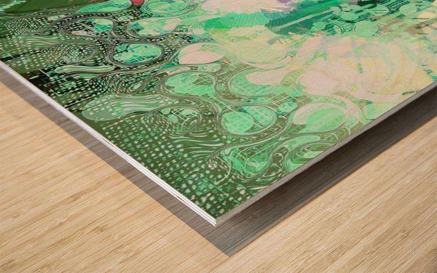 Veritas Wood print
