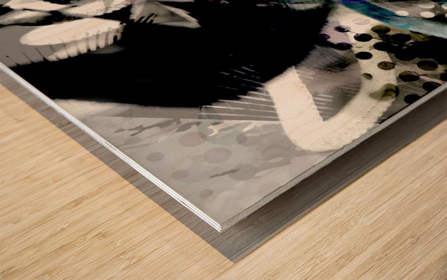 j A Z U Wood print