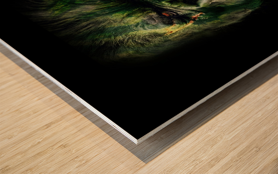 WATERMELOKONG Wood print