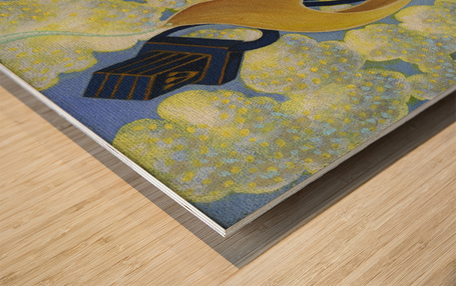 1988 01 Wood print