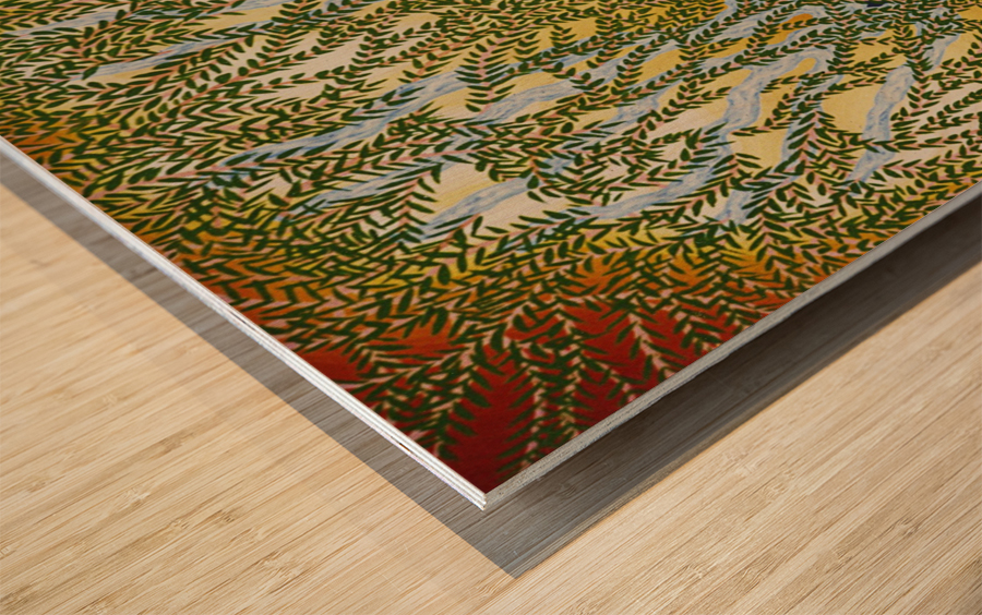 1987 024 Wood print