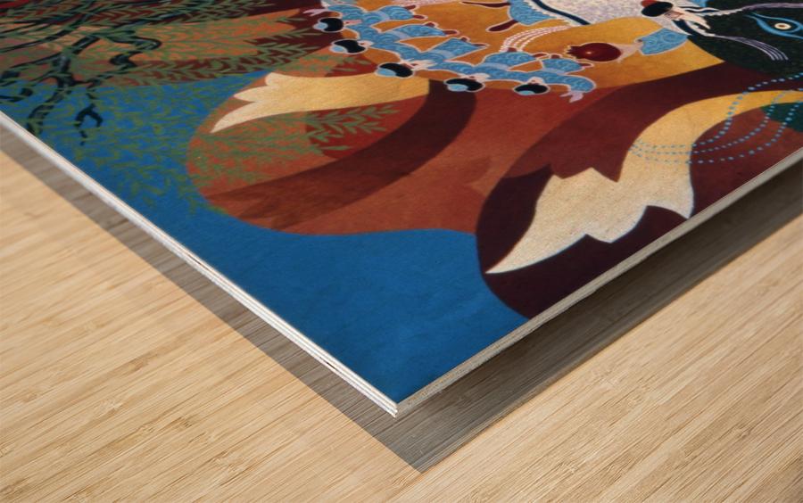 1987 025 Wood print