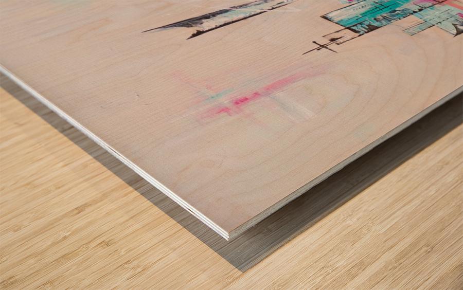 Uptown XXII Wood print
