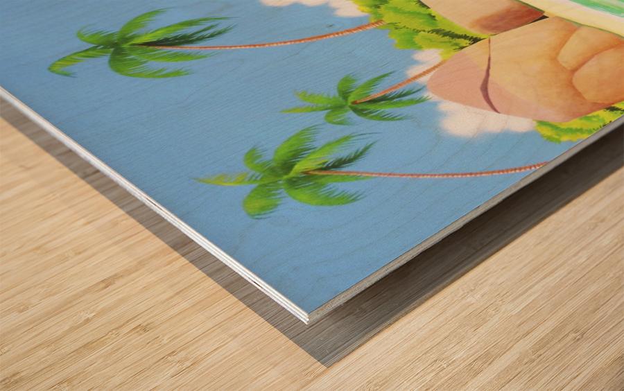 YASAWA  Wood print
