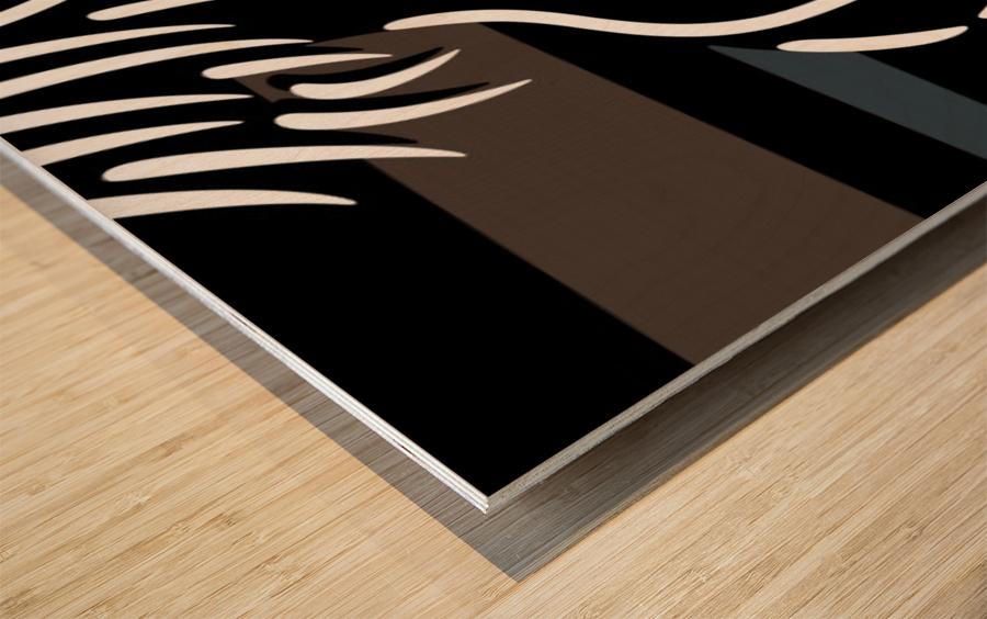 Nude 4 Wood print
