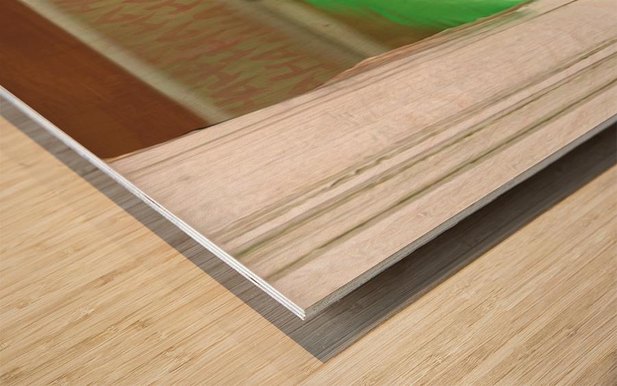 Heres The Joker Wood print