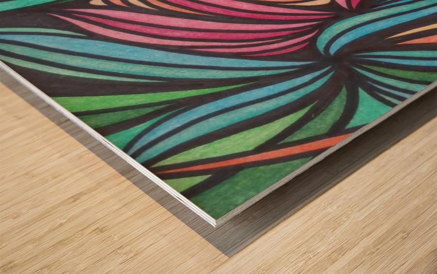 Laiken  Wood print