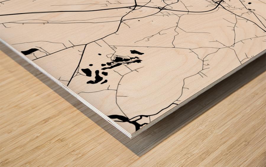 Augusta USA Wood print