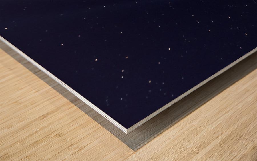 Neowise Comet 2020 Wood print