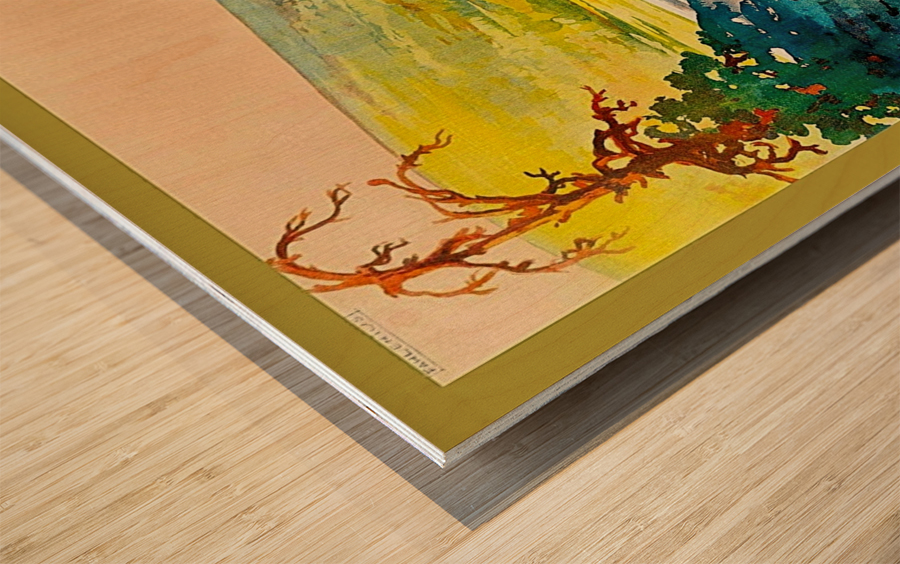 Rovaniemi Wood print