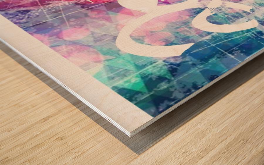 2020c  Wood print