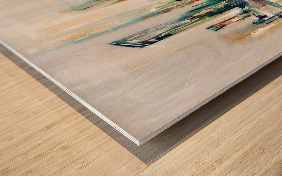 Uptown XXV Wood print