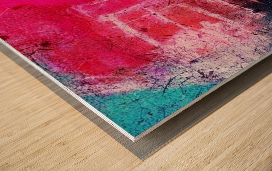 Prismo Wood print