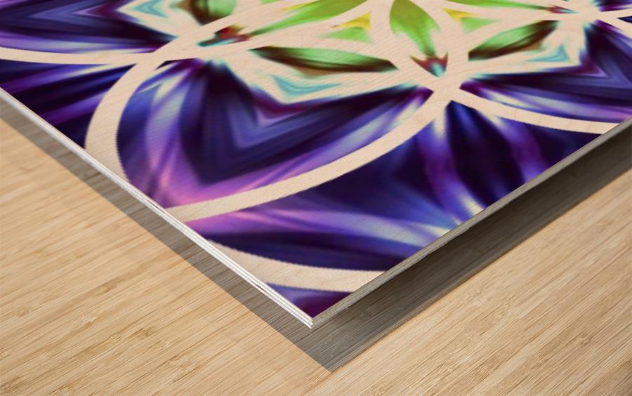 Gravitas Wood print