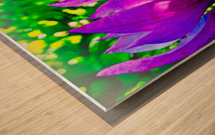 Mauve Wood print