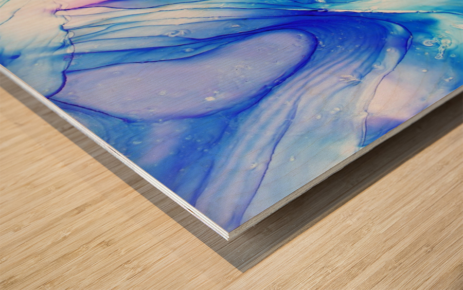 945 Wood print