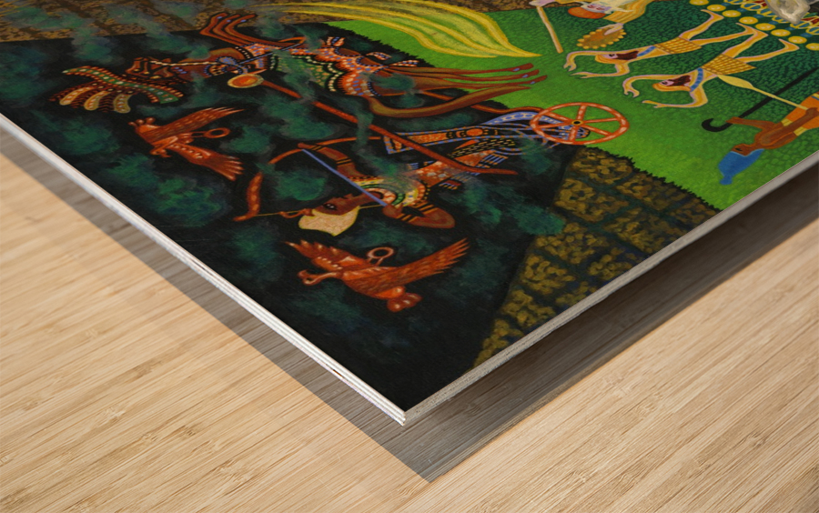 1986 04 Wood print