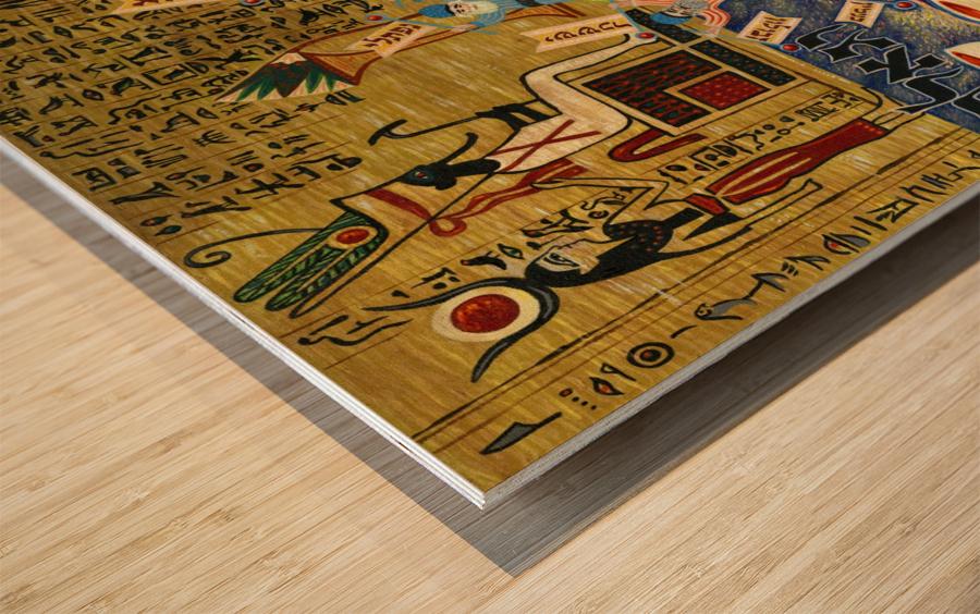 1985 017 Wood print