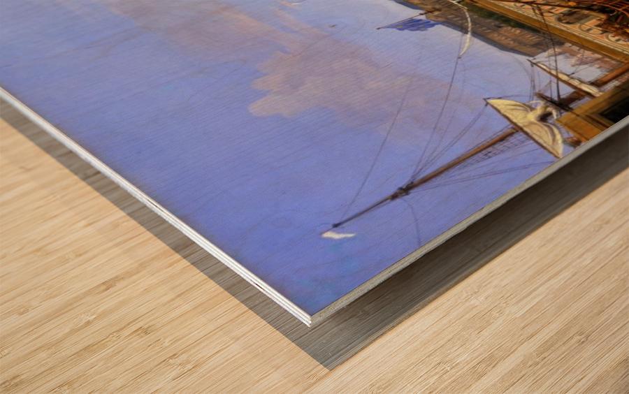Darsena delle Galere Wood print