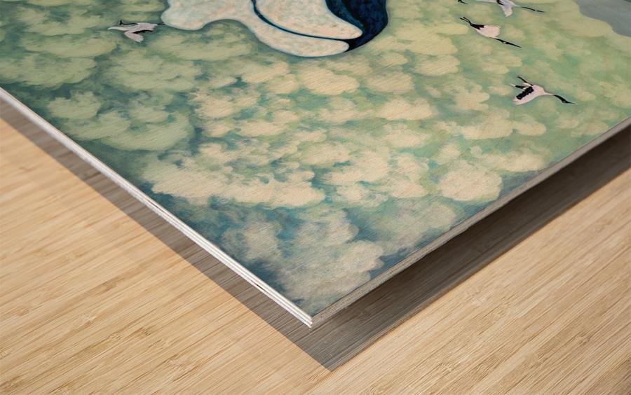 1991 013 Wood print