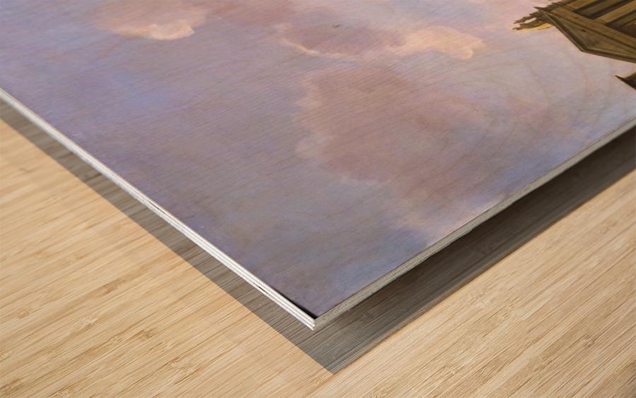 Stichting Vrienden Wood print