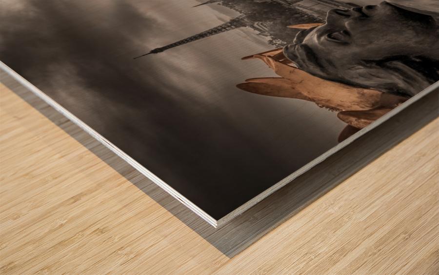 dh00002 Impression sur bois