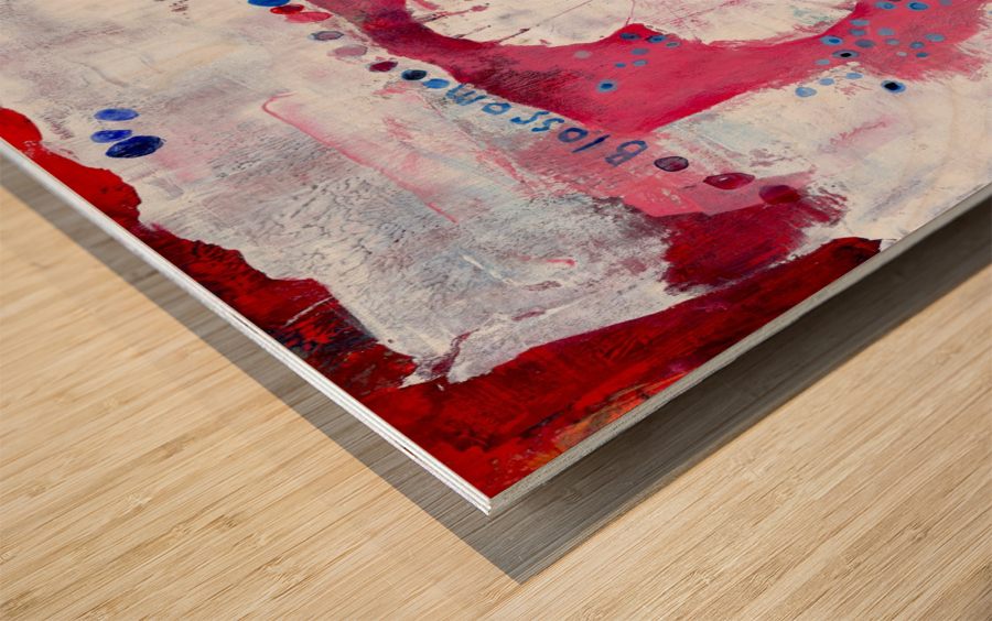 Blossom Wood print