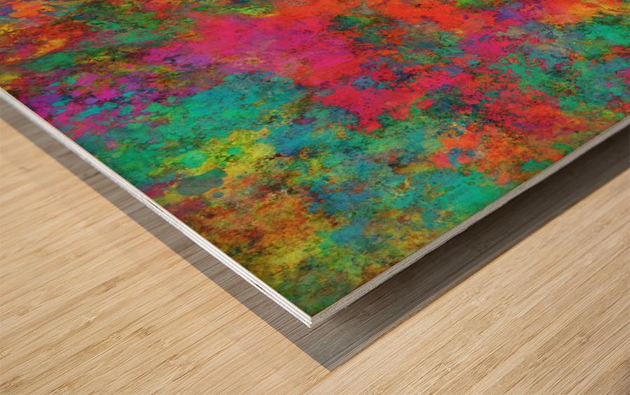 The spark Wood print