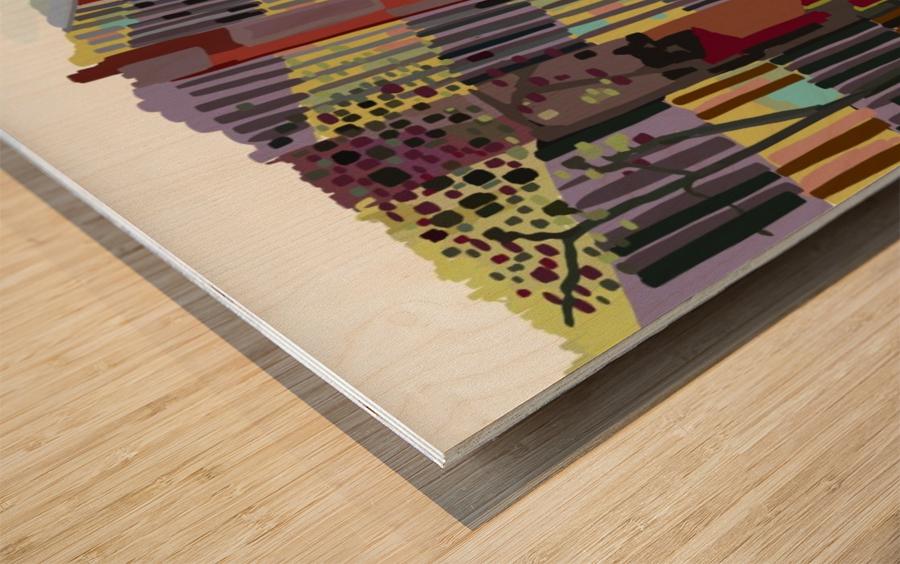 University of Florida College of Art Wood print