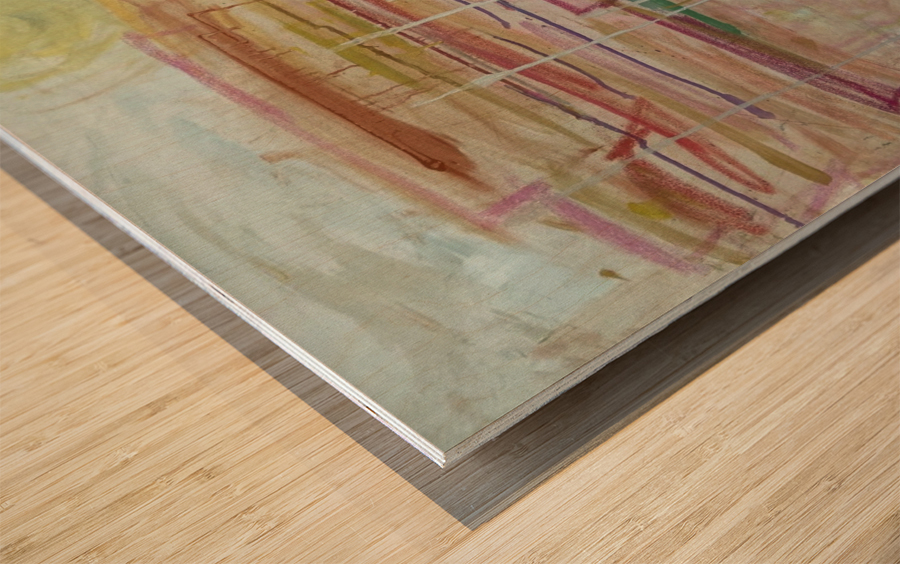 SantaFe Wood print