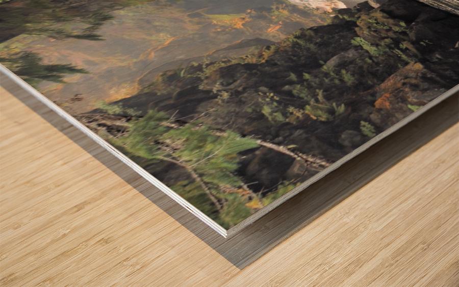 Rogue River Canyon Wood print