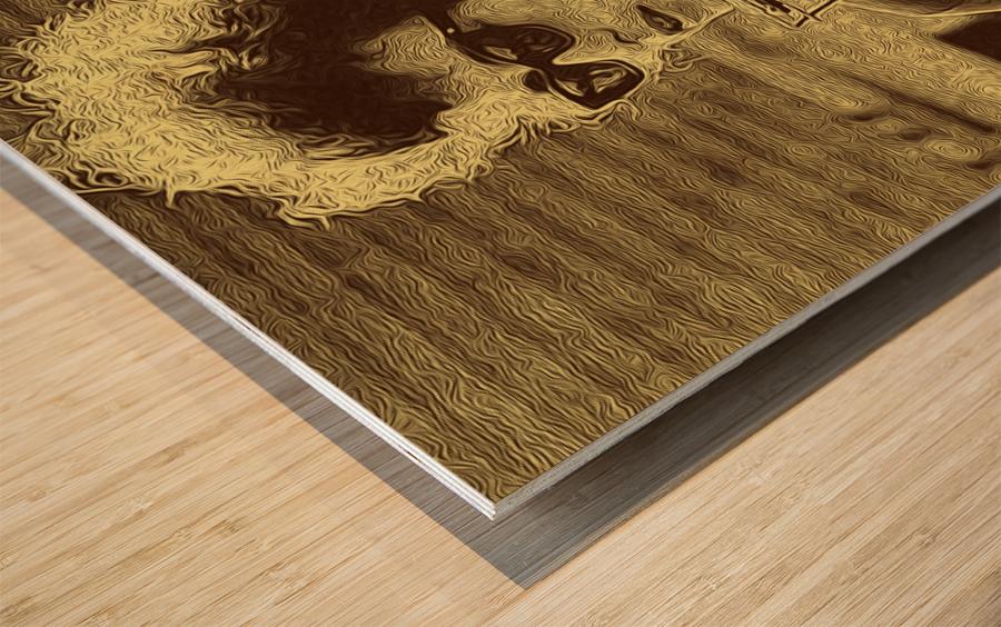 Bob Dylan  American singer Collection 3  Wood print