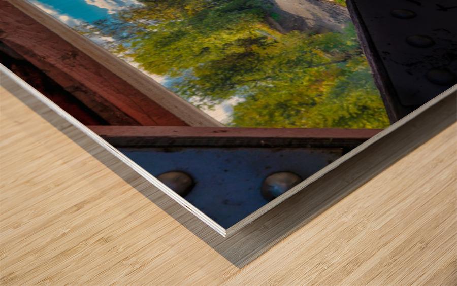 Amqui Pont Beausejour 4 Impression sur bois
