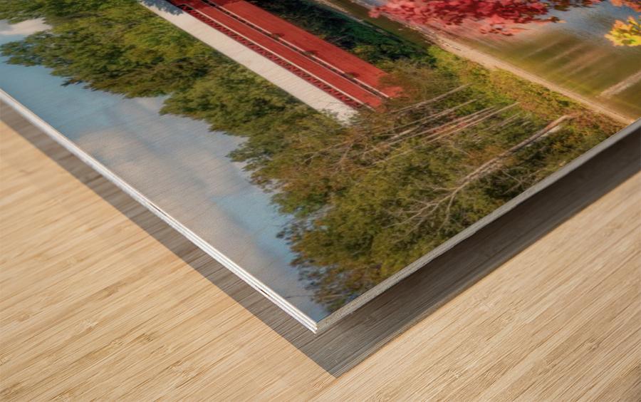 Amqui Pont Beausejour 3 Impression sur bois