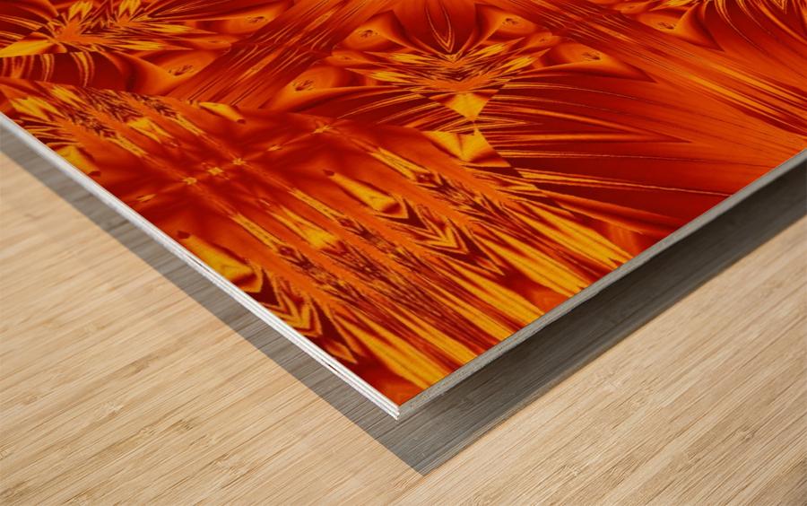 Fire Flowers 141 Wood print