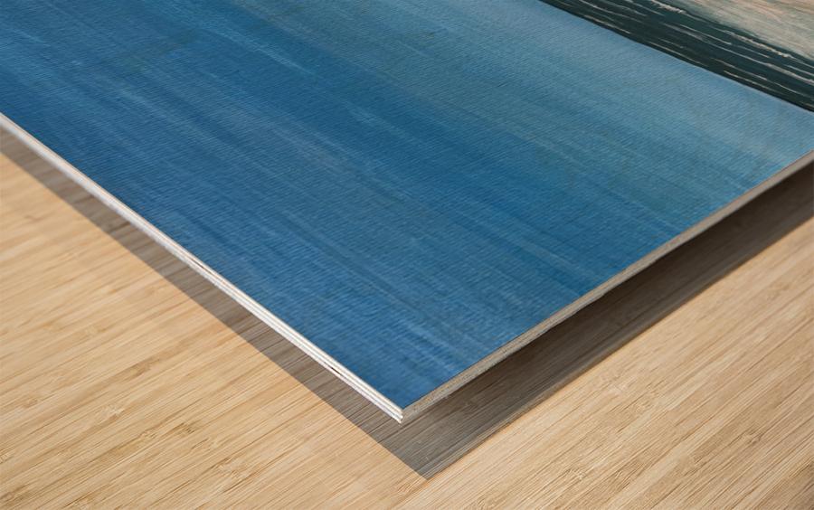 Ocean side Wood print