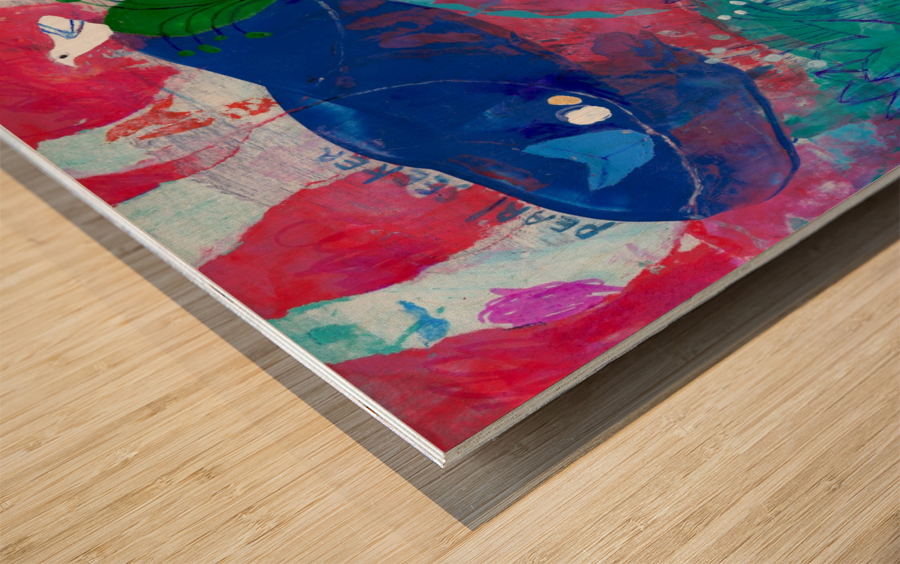 Pearl Seeker Wood print