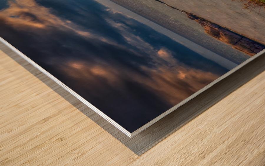 Chaloupe Belle-Anse en ete Impression sur bois