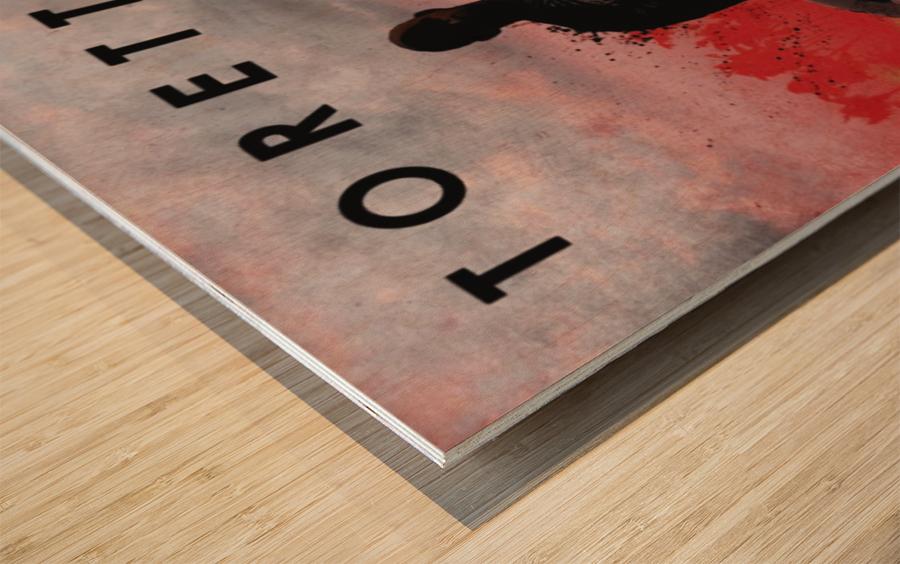 Dominic Toretto Wood print