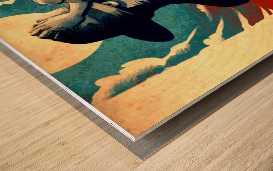 Luffy ONE PIECE Wood print