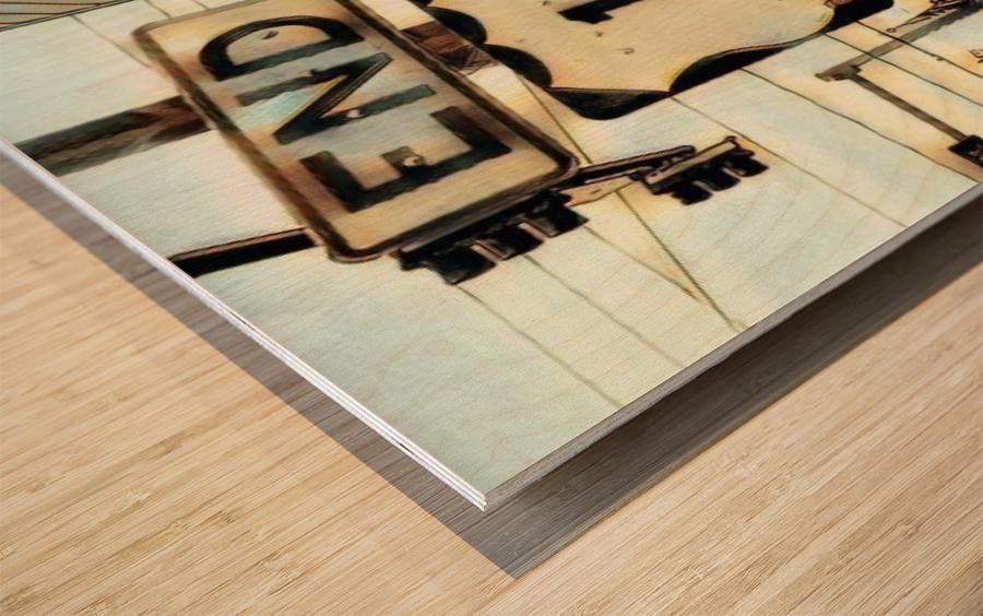 Beginingoftheend Wood print