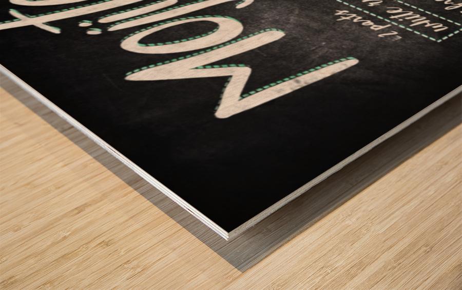 Mojito Wood print