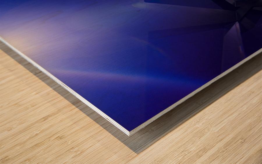 Xcalibr8 Wood print