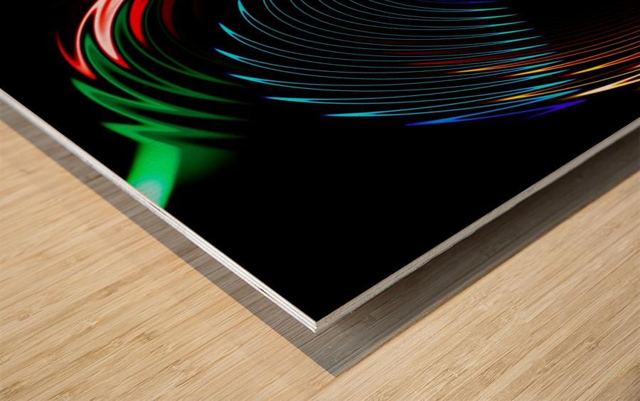 CYCLONE DREAMS Wood print