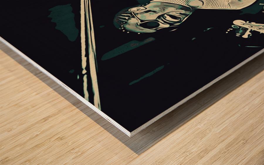 Stevie_Wonder_11 Wood print
