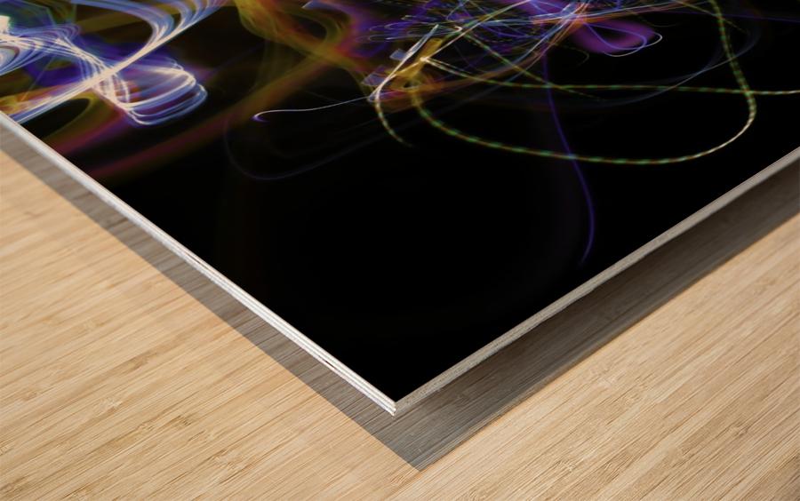 MOVING WINDOW Wood print
